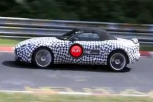 VIDEO: Noul model Jaguar F-Type in actiune