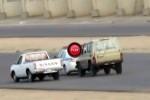 Intre timp la arabi - Masina politiei urmarita de drifteri