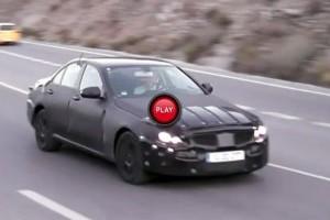 VIDEO SPION: Mercedes C-Class 2014