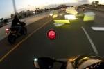 VIDEO: Polistirenul expandat dauneaza grav motociclistilor