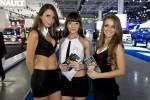 Fetele de la Salonul Auto din Moscova 2012