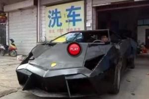 Un chinez si-a construit un Lamborghini Reventon cu doar 7500 de euro