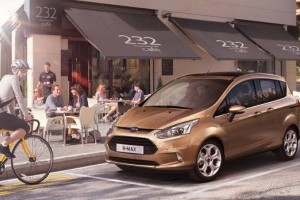 5 stele la testele EuroNcap pentru Ford B-MAX
