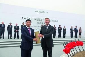 Cutii de viteze Volkswagen Made in China