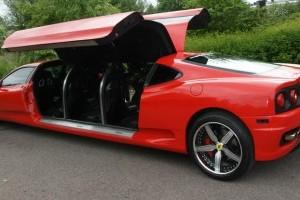 Limuzina Ferrari exista si a fost filmata !