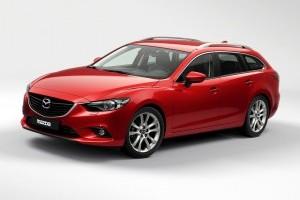 Imagini noi cu Mazda6 Station Wagon 2014