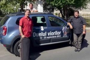 Dacia Duster, masina oficiala a Duelului Viorilor