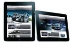Mercedes-Benz Romania continua seria lansarilor in premiera - varianta de website pentru tableta