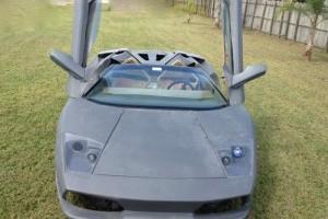 Porsche Boxter transformat in Lamborghini Murcielago LP640 Roadster