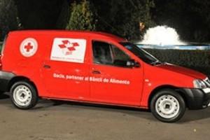 Dacia a donat 13 Logan Van Crucii Rosii Romane