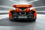Imagini noi cu superbul McLaren P1