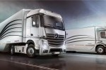 Premieră mondială: Mercedes-Benz Aerodynamics Truck şi Trailer