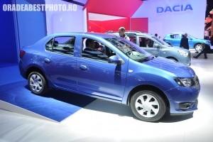 Salonul Auto de la Paris 2012: Dacia Logan si Sandero