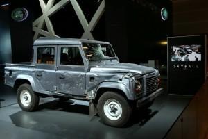 Paris 2012: Noul Range Rover alaturi de masina lui 007