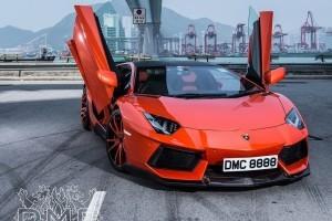 TUNING: Lamborghini Aventador modificat de DMC