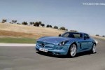 VIDEO: Mercedes SLS AMG Electric Drive in actiune