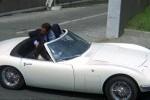 VIDEO: Iata primul supercar decapotabil japonez