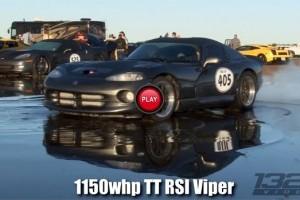 Dodge Viper de 1150 CP vs Lamborghini Gallardo de 1300 CP