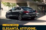 Opel Astra sedan la partenerii Opel din toată ţara