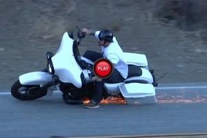 VIDEO: Ce se poate intampla cand te crezi pilot de MotoGP