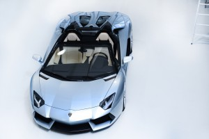 Primele imagini cu noul Lamborghini Aventador LP700-4 Roadster