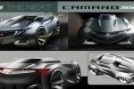 Studiu de design - Chevrolet Camaro
