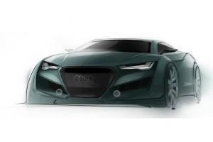 Studiu de design Audi Quattro Coupe