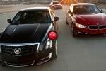 VIDEO: Cadillac ATS vs BMW 335i vs Mercedes A-Klasse