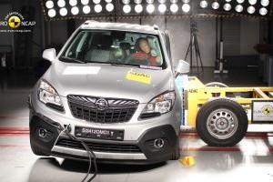 Punctaj maxim la testele Euro NCAP pentru Opel Mokka