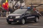 Noile Dacia Logan si Sandero au participat la Parada Militara de 1 Decembrie