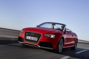 Imagini noi si un material video cu noul Audi RS5 Cabriolet