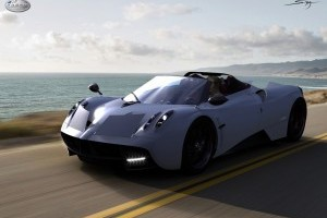 Studiu de design - Pagani Huayra Roadster