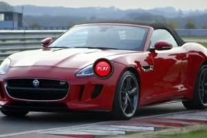 VIDEO: Trei prezentatori TV testeaza noul Jaguar F-Type
