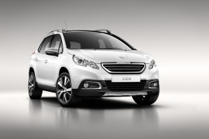 Peugeot prezinta noul crossover 2008