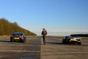 VIDEO: Nissan GT-R vs. Ducati 1098 vs. Lamborghini Reventon Roadster