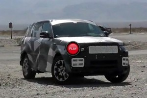 VIDEO: Range Rover Sport camuflat