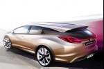 Honda prezinta la Geneva conceptele Civic wagon si NSX