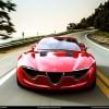 Studiu de design - Alfa Romeo 6C