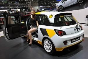 Geneva 2013: Opel Adam Rally R2