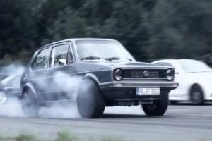 VIDEO: Un Golf I de 736 CP!