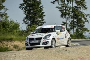 Cupa Suzuki atrage echipaje noi la Raliul Sibiului