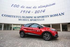 Renault, partener principal al COSR cu ocazia Centenarului Olimpismului