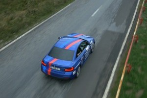 Model special dedicat piloţilor români care au concurat cu BMW, la Sibiu Rally Challenge