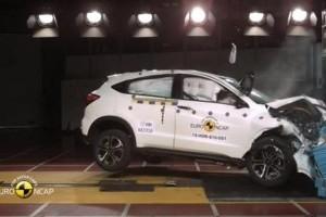5 stele pentru Honda HR-V și Jazz la testele EuroNCAP