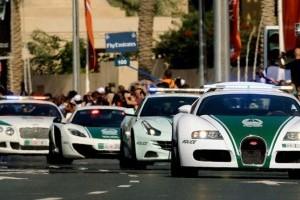 Ineditele mașini ale poliției din Dubai