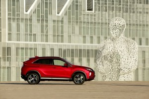 Mitsubishi Eclipse Cross expus în premieră în România