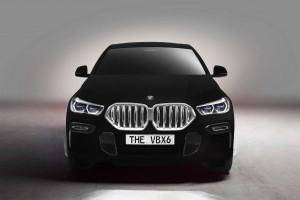 Cel mai negru BMW din lume: BMW X6 Vantablack