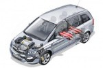Opel Zafira CNG: Turbo, cu gaz natural