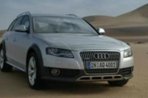 VIDEO: Audi A4 Allroad Quattro in actiune