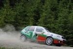 Skoda Fabia RS TDI ia startul la Brasov in Campionatul National de Raliuri 2009